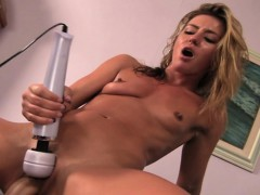 Elegant Blonde With A Heavenly Ass Enjoys A Vibrator And A Huge Dick