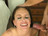 Step Sister From Another Mom Blowjob and Facial
