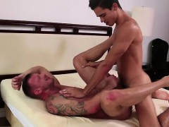 Latin Son Flip Flop With Cumshot
