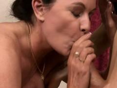Busty Tattooed Shemale Fucked Mature Woman On Massage Table