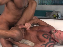Mature Hung Bear Cums