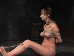 Bound Sub Tied Up And Whipped By Black Dom
