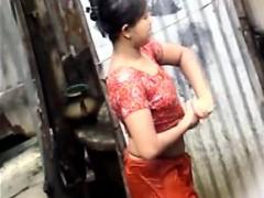 indian bitch full exposed in public
