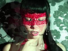 marica-hase-in-sexy-lingerie-masturbates-in-the-mirror
