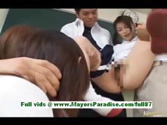 akane-sakura-adorable-japanese-schoolgirls-at-school