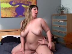 Big Tits Chick seduces Him and Rides His Cock