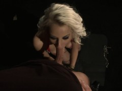 Cocksucking Submissive Gets Facialized In Pov