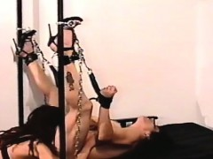 Ballgagged And Unable To Move, This Whore Gets Stimulated