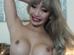 See How This Asian Babe With Big Boobs