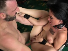 submissive british babe banged and mouthgaped