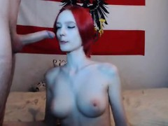 Big tits body redhead babe in Activity