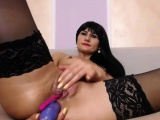 Luxury Tiny Tits Slut Uses A Dildo On Her Sexy Ass