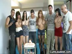 Really Great Fuck Party Gangbang Part6