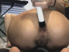 beer-bottle-anal-and-vaginal-insertion-for-skinny-indian