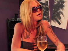 Glam Tranny Assfucked By Lucky Bar Owner