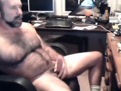Fat & Hairy Gay Cum In Office More On Gayclipdotwebcam
