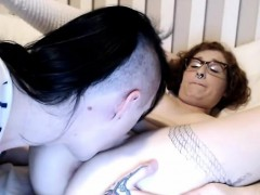 Shemale With An Amateur Tranny And Girl