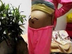 Chinese Pregnant Girl Bare Ass Dance Naked Dance, Super Funn