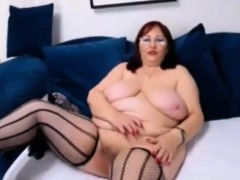 Hot Busty Grannies Teasing In Front Of Webcam
