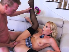 Summer Day Has The Hots For Her Tutor and Finally Seduces