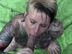 Tattooed Milf Slut Gets Fucked Pov
