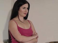 Small tits latina tgirl Anaya Nae sucks and doggystyle anal