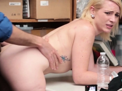 Cute Blonde Teen Fallon Love Fucked For Shoplifting A Store