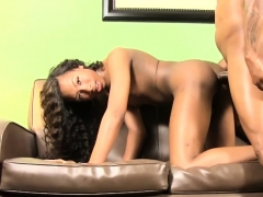 Ebony Tgirl Gets Her Asshole Fucked Deeply