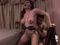 Latina Shemale Fucked By An Angry Boyfriends Hard Cock