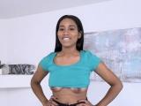 TeenyBlack- Hot Ebony Babe Seduces Camera Man
