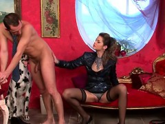 Lesbian Luscious Babes Fuck With Belt On