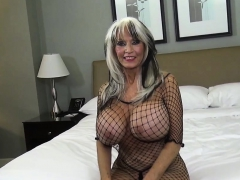 Sally D'angelo Gives Chunky Stepson Rough Sex Lessons