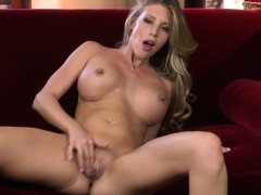 Samantha Saint Fingers Her Tight Wet Pussy
