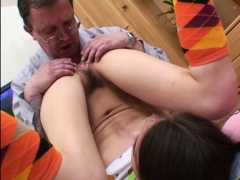 Aged Man Gets Treated Nicely By A Much Younger Slut