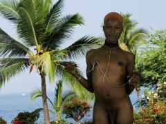 Black Lingerie Tgirl Stripping Before Jerking