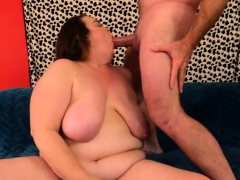 Hot Bbw Masturbates And Is Fucked By A Thick Dick