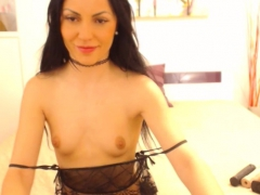 lusty milf tramp need some pleasure when she is home alone