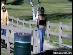 Girls Gets Sharked Out In Public