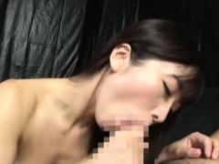 JAV legend Hibiki Otsuki blowjob with cum swallowing anjinha –