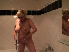 Big boobs granny banged by an young dude