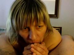 Pov Blowjob Hottie Gives Her Man A Handjob