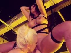Big Tits Lesbian Enjoys In Femdom Sex Games