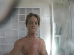 Super Sexy Rahyndee James Takes A Hot Shower