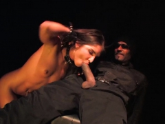 giselle takes on a massive black cock to pay black the black