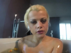 Nadia Takes A Bath With Some Rubber Duckies