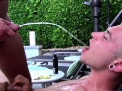 Straight Guy Drinking Piss Gay They Swap Oral Jobs And