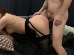 Big Ass Sonja Gets Mouth And Pussy Fucked