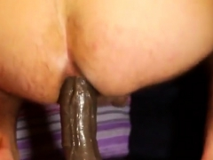 Outstanding Straight Guy With Some Dildo