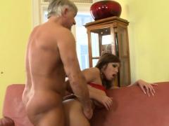 Grandpa Fucks Amazing Busty Teen Donna Bell