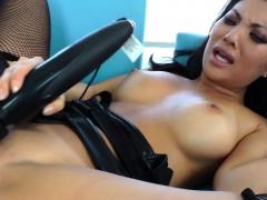 Busty asian slut Asa Akira anal